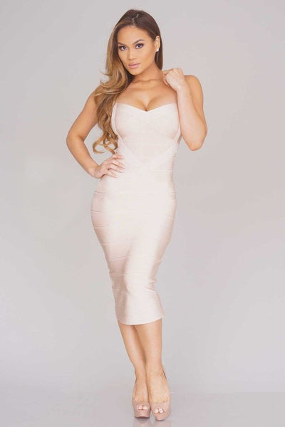 Sleekin' Out Thigh Bandage Dress - 11 colors - Awesome World - Online Store  - 25