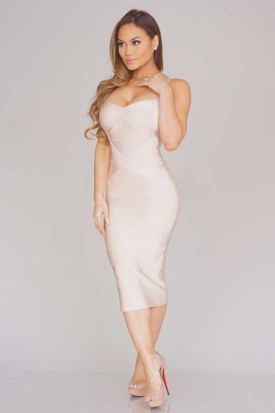 Sleekin' Out Thigh Bandage Dress - 11 colors - Awesome World - Online Store  - 9