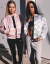 Bomber Jacket - Silver&Pink - Awesome World - Online Store  - 1