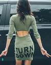Turn Up Turn Down Dress - Awesome World - Online Store  - 1