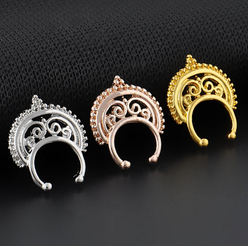 Hindu Nose Fake Piercing - 3 colors - Awesome World - Online Store  - 3
