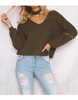 Knitted Sweater+Choker - 4 colors - Awesome World - Online Store  - 1