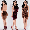 Moda Velvet Dress - 2 colors - Awesome World - Online Store  - 4