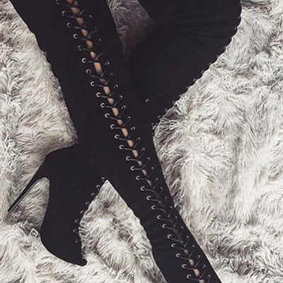 Thigh High Boots - 5 colors