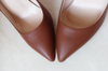 Matte Brown Stiletto - 3 Heel Sizes - Awesome World - Online Store  - 2
