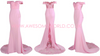 Doll Pink Lace Gown - Awesome World - Online Store  - 3