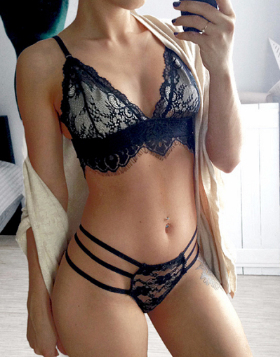 Private See Through Lingerie Set - Awesome World - Online Store  - 1