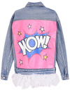 WOW Denim Jacket - Awesome World - Online Store  - 1