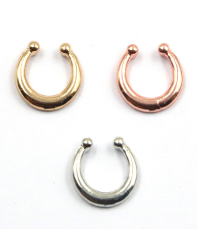 Nose Fake Piercing - 3 colors - Awesome World - Online Store  - 2