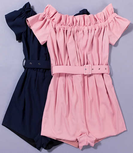 Ruffles Premium Playsuit - 2 colors - Awesome World - Online Store  - 3