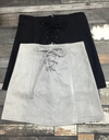 A Line Suede Skirt - Grey&Black - Awesome World - Online Store  - 1