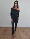 Comfy yet Stylish Jumpsuit - Black&Green - Awesome World - Online Store  - 1