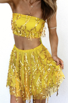 Fringe Sequins 2 Pieces Set - 2 colors - Awesome World - Online Store  - 3