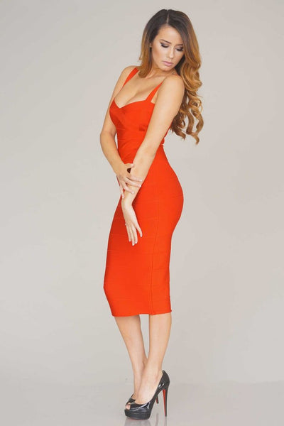 Sleekin' Out Thigh Bandage Dress - 11 colors - Awesome World - Online Store  - 22