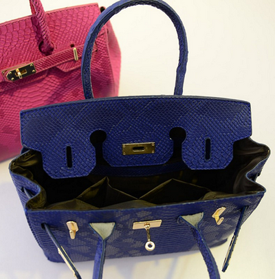 Birkin Snake Style Bag - 4 colors - Awesome World - Online Store  - 3