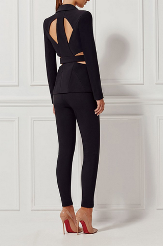 On Point Backless Coord Suit