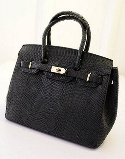 Birkin Snake Style Bag - 4 colors - Awesome World - Online Store  - 4