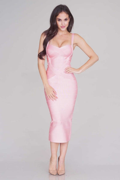 Sleekin' Out Thigh Bandage Dress - 11 colors - Awesome World - Online Store  - 4