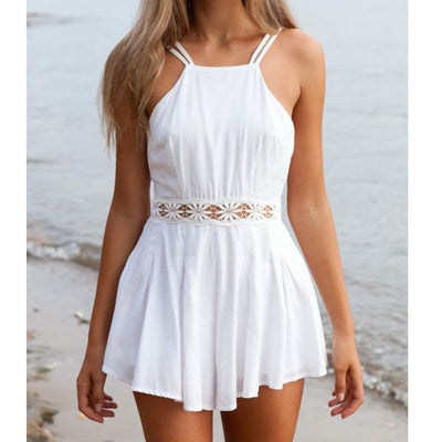 White Sensual Lace Playsuit - Awesome World - Online Store  - 4