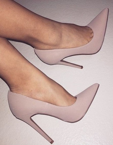 Matte Nude Stiletto - 3 Heel Sizes - Awesome World - Online Store  - 3