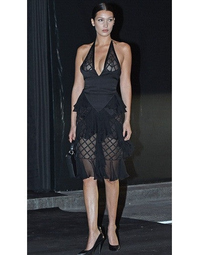 Hadid Bandage Mesh Dress - Awesome World - Online Store  - 3