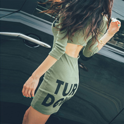 Turn Up Turn Down Dress - Awesome World - Online Store  - 4