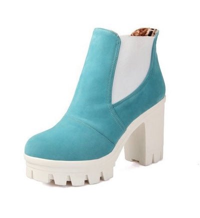 Platform Ankle Boots - 4 colors - Awesome World - Online Store  - 5