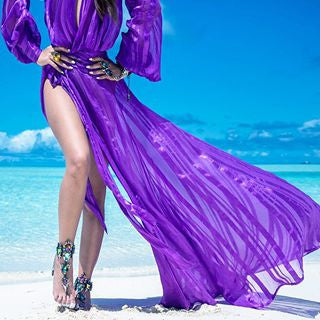 The Night Purple Dress - Awesome World - Online Store  - 5
