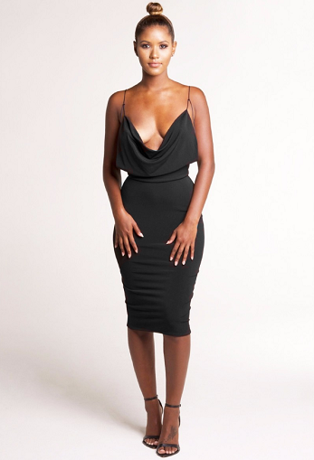 Fatale Backless Dress - Awesome World - Online Store  - 2