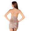 Glitter Halter Neck Dress - 2 colors - Awesome World - Online Store  - 4