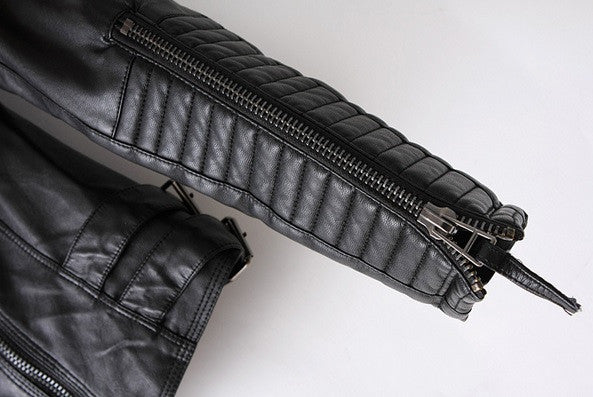 Motorcycle Leather Jacket - Awesome World - Online Store  - 3