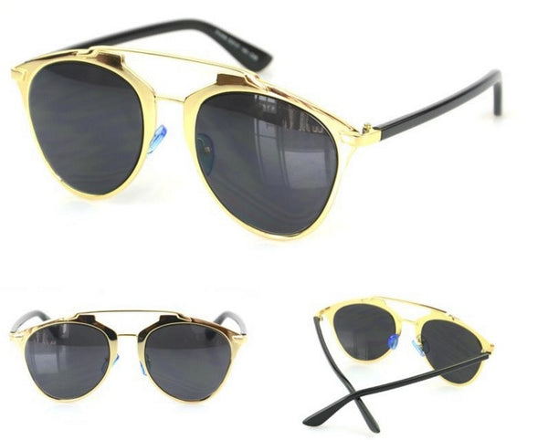 Gold Frame Fashion Sunglasses - 3 Colors - Awesome World - Online Store  - 8