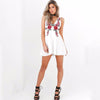 Roses V-Neck Mini Dress - Awesome World - Online Store  - 3