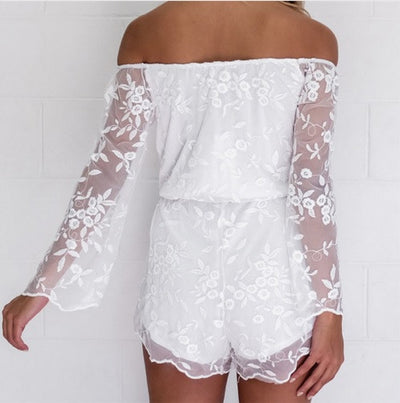 Lace Sleeveless Jumpsuit - Awesome World - Online Store  - 3