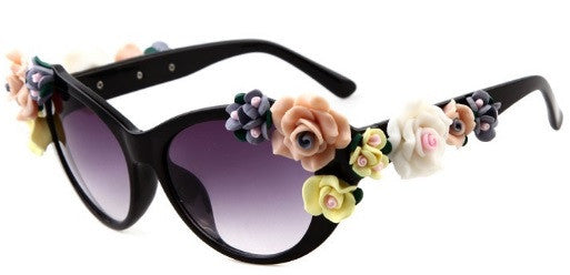 Flower Celebrity Sunglasses - 2 Colors - Awesome World - Online Store  - 5