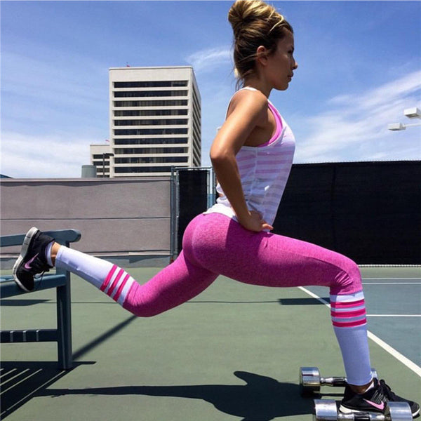 Colorful Work Out Leggings - Awesome World - Online Store  - 3