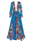 Two Splits Floral Dress - Awesome World - Online Store  - 7