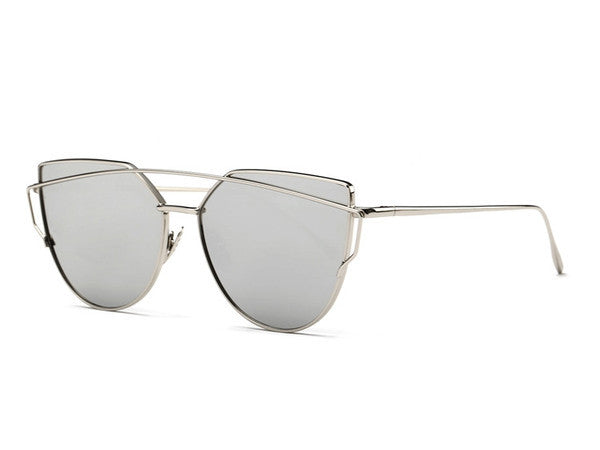 Metal Frame Trendy Sunglasses - Awesome World - Online Store  - 4