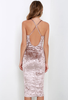 Velvet Kylie Style Dress - Awesome World - Online Store  - 5