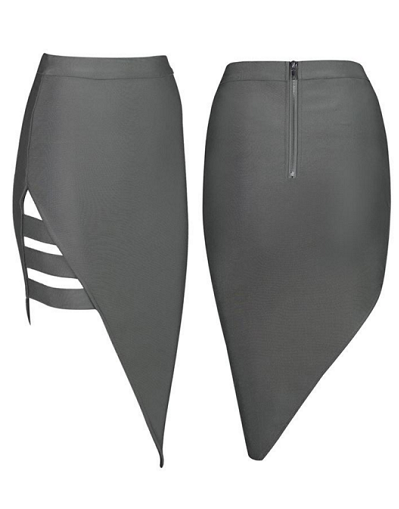 Bandage Split Skirt - 2 colors - Awesome World - Online Store  - 2