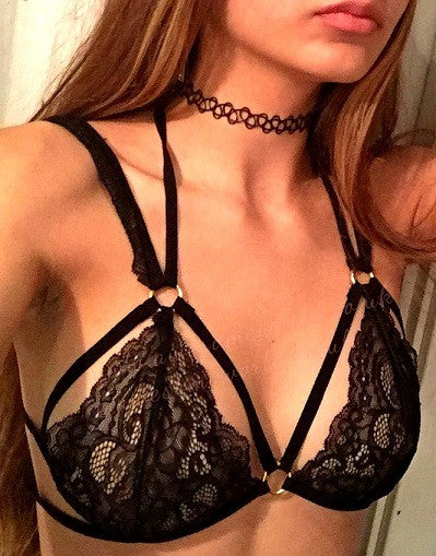 Provocative Mesh Bra - Awesome World - Online Store  - 2