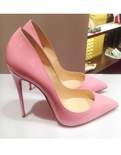 Shiny Pink Stiletto - 3 Heel Sizes - Awesome World - Online Store  - 2