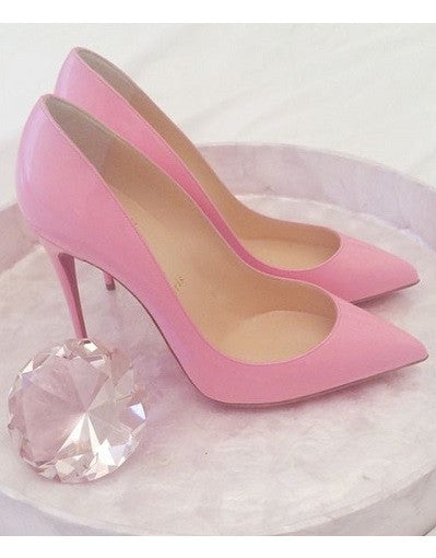 Shiny Pink Stiletto - 3 Heel Sizes - Awesome World - Online Store  - 3