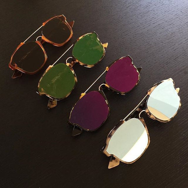 Acetate Trendy Sunglasses - 7 Colors - Awesome World - Online Store  - 12