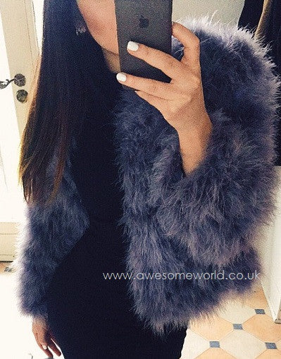 Glam Fur Coat - 10 colors - Awesome World - Online Store  - 6