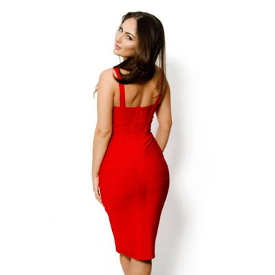 Sleekin' Out Thigh Bandage Dress - 11 colors - Awesome World - Online Store  - 12