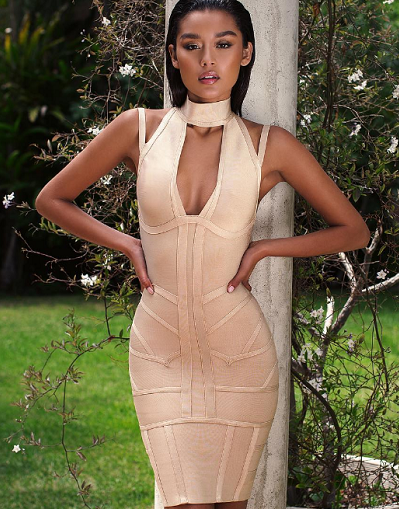 All the Right Places Bandage Dress - Awesome World - Online Store  - 3