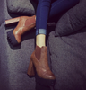 Trendy Platform Boots - 2 colors - Awesome World - Online Store  - 3