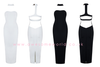 Backless Choker Bandage Dress - 2 colors - Awesome World - Online Store  - 3