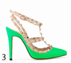 12 cm Heel Bright Rivets Pumps - 10 colors - Awesome World - Online Store  - 7